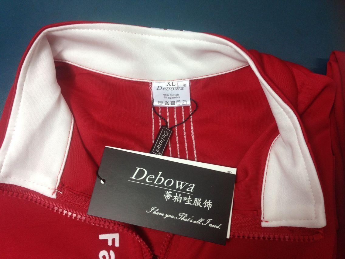 Rojo Mujer Casual Blue Larga 2017 Camisa Y Pantalones Unidades negro Nueva Manga Debowa 2 Superior Sets Traje dark Cintura Set Elástico Mujeres Completa Hx8gF1