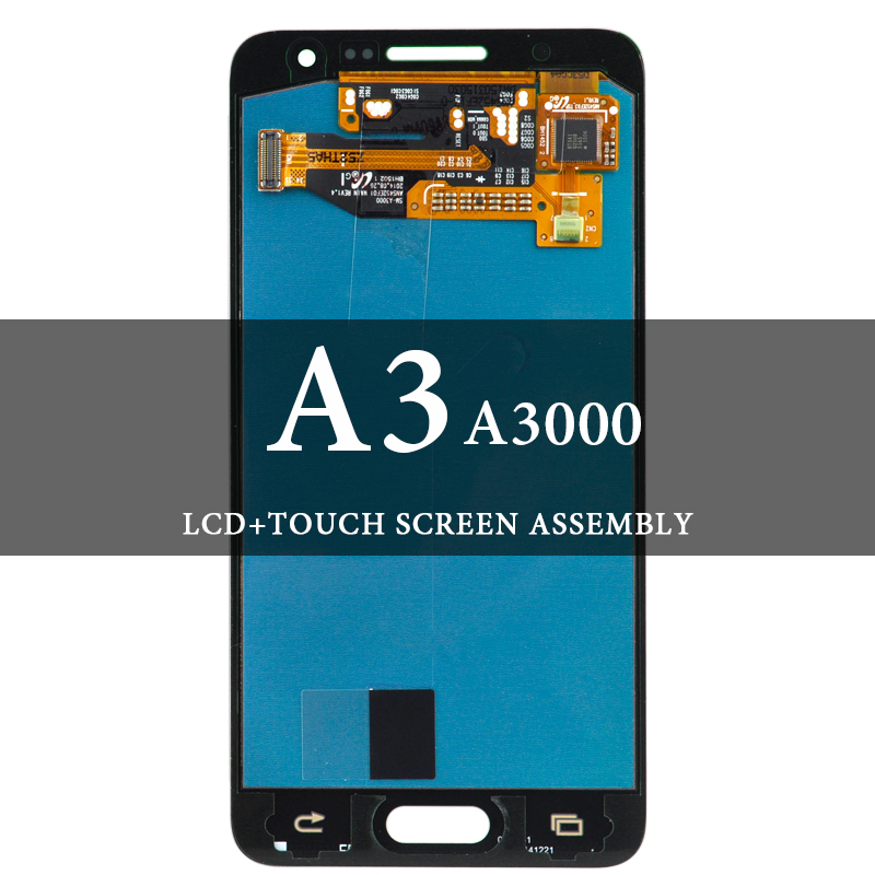 100% Tested LCD For Samsung A3 A300 LCD Display No Spot With Digitizer Touch Screen AMOLED Assembly For Samsung A3 Screen100% Tested LCD For Samsung A3 A300 LCD Display No Spot With Digitizer Touch Screen AMOLED Assembly For Samsung A3 Screen