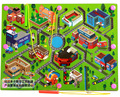 Walking Beads Magnetic Maze Toy Transport City Planning a Variety of Child Puzzle