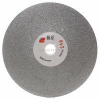 5 Inch 125mm Quality Electroplated Diamond Coated Flat Lap Disk Grinding Polishing Wheel Grit 240 Medium