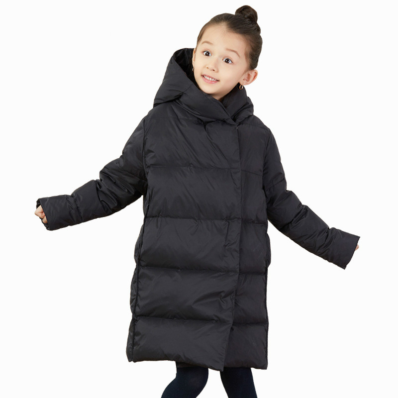 Featherwear 2019 New Boys and Girls Fashion Down Jacket with Long Childrens Down Jacket In CapFeatherwear 2019 New Boys and Girls Fashion Down Jacket with Long Childrens Down Jacket In Cap