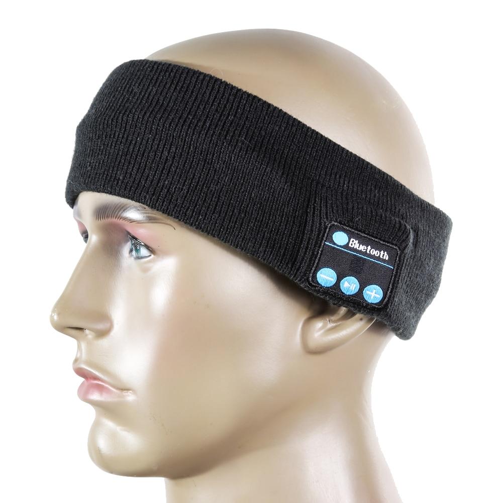 Unsiex Cycling Caps With Bluetooth Headset Stereo Headphone Earphone Bike Cycling Headset Headband Set-in MIC For Running