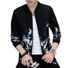 XT1519-A1407 новая весенняя Осенняя мужская Тонкая Корейская версия тонкая Молодежная модная повседневная куртка дешевая