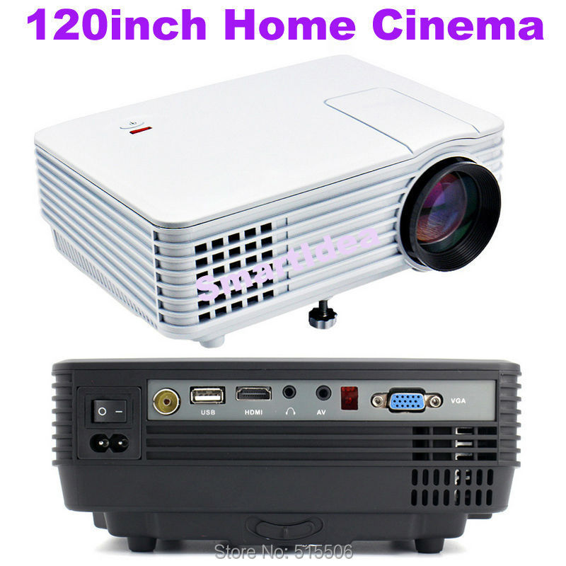 Cheap pico mini projector 1800lumens 800x480pixels for Top rated pocket projectors