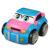 KAWO Taxi Juguetes de Radio Control RC Coche de Carreras de Camiones de Ingeniería de Dibujos Animados para Niños Pequeños y Niños (3 + Años)
