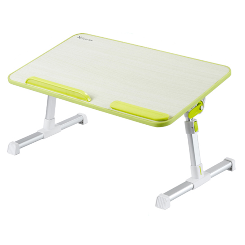 Folding Lifting Laptop Table Adjustable Computer Desk Students Dormitory Studying Table Multi-function Bed Desk For Notebook