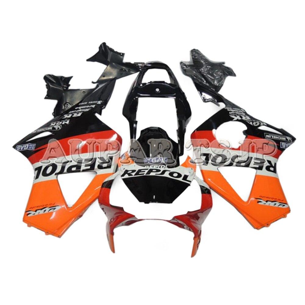 Repsol Orange noir carénage inférieur pour Honda CBR900RR 954 CBR954RR 2002 2003 ABS Injection plastique carénage carrosserie Kit nouvelles coques