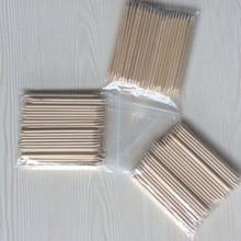 Nail Brush 20/50/100pcs/set Nail Art Orange Wood Stick for Nail Art Decorations Cuticle Pusher Remover Pedicure Manicure Tool недорого