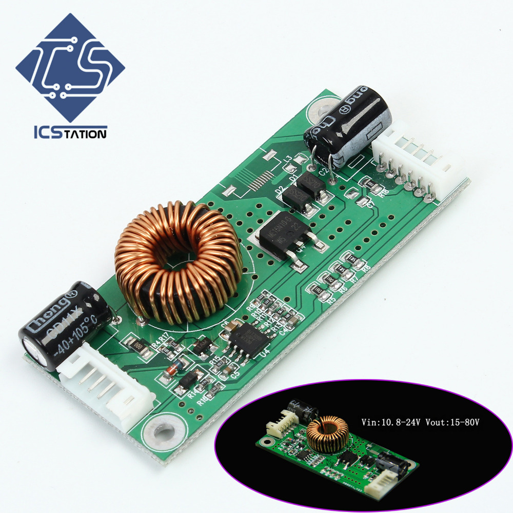 14-37 Inch LED LCD Universal TV Backlight Constant Current Board Driver Boost Step Up Module 10.8-24V to 15-80V bartonsteel bs 7324