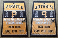 New Pittsburgh Pirates World Series Champions Flag 3ft X 5ft Polyester MLB Banner Flying Size No