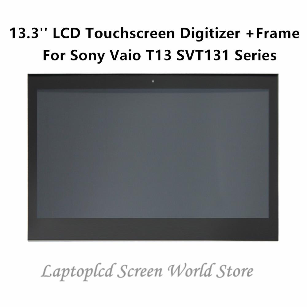 "Notebook Display Reparatur Sony VAIO SVT131A11M LCD Display Bildschirm 13.3/"" HD"