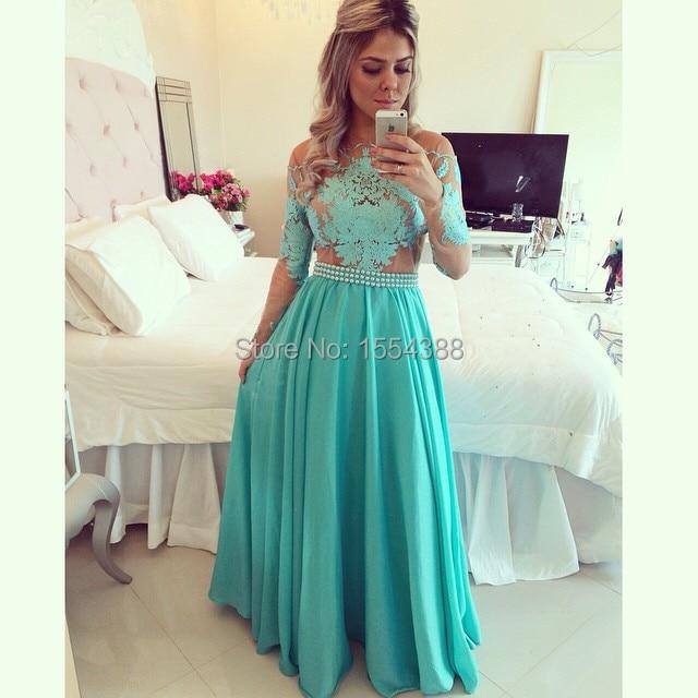 Online Get Cheap Vestidos De Baile 2016 Long Sleeve -Aliexpress ...