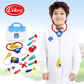 New Pretend Play Doctor Toys Simulation Medicine Medical Kit Kids Baby Children's Toys Stethoscope Syringe With Suitcase