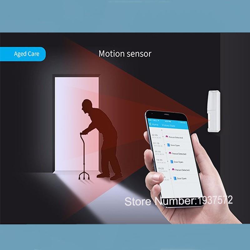3-New Arrival Broadlink S1S1C SmartOne Alarm&Security Kit For Home Smart Home Alarm System IOS Android DoorWindow Sensor RF433
