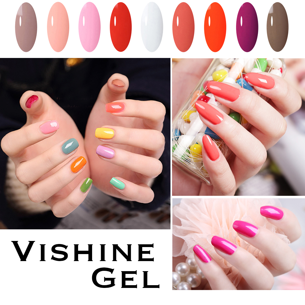 Vishine 8ML Hot Sale Natural UV Gel Nail Polish Vegan Ingredients ...