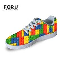Forudesigns chaussure homme fashion 2017 zapatos de los hombres de color mezclado de impresión zapatos casuales zapatos masculinos sapatos zapatos planos tamaño 39-44