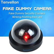 Fake Camera Dome Simulation Camera Security CCTV Surveillance Camera With Flash Blinking LED Dummy camaras de seguridad