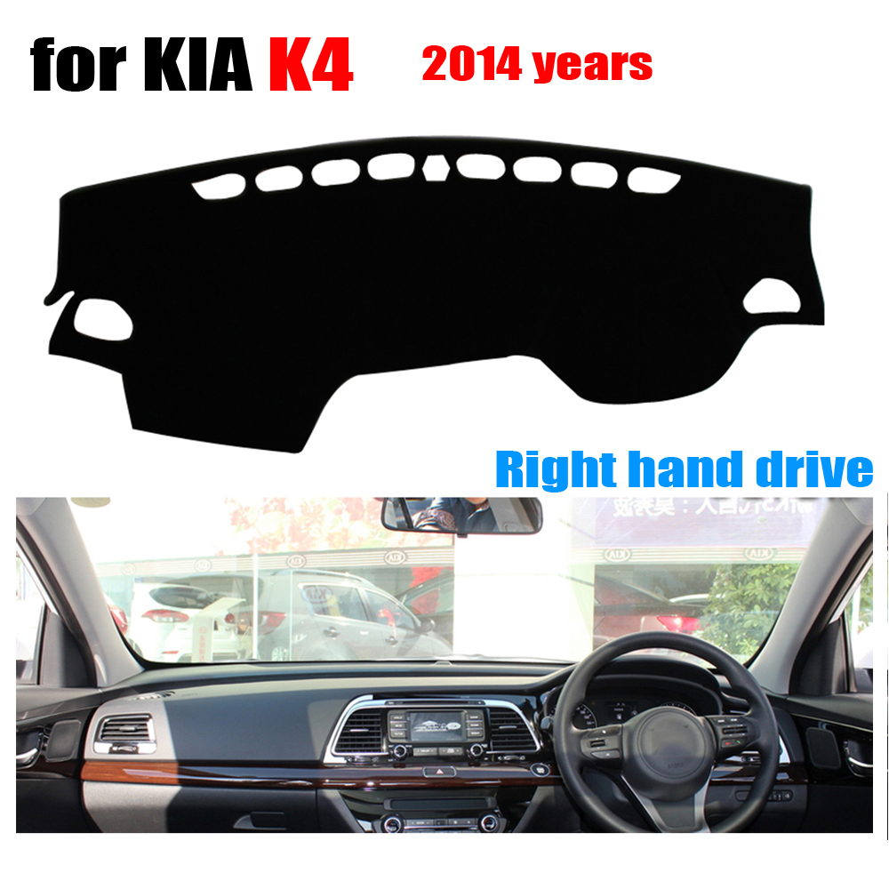 font b Car b font dashboard cover mat for Kia K4 2014 years Right hand