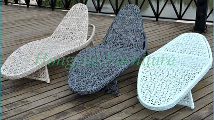 Colorful rattan chaise lounge outdoor desgins furniture sale in sun loungers from furniture on - Colorful chaise lounge chairs ...