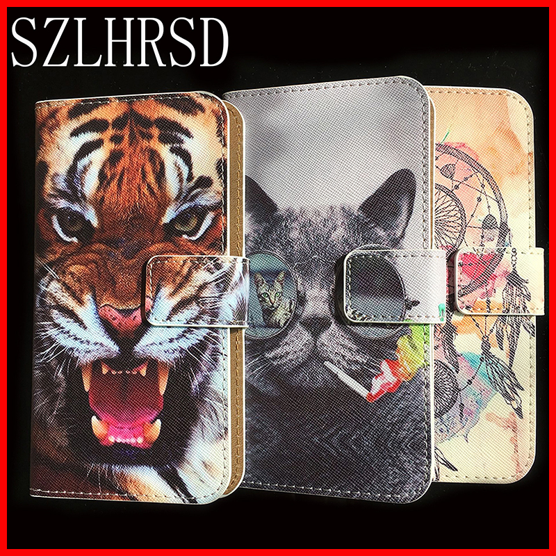 For <font><b>Asus</b></font> <font><b>Live</b></font> <font><b>G500TG</b></font> /Zenfone Pegasus 3s /Go ZC500TG Case Fashion Luxury Protective Flip Leather Case Phone Cover Wallet Style image