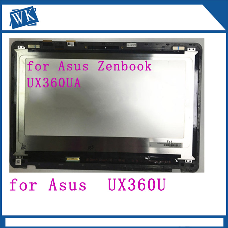 B133HAN02.7 For Asus UX360U UX360UA ASSEMBLY 13.3Full LCD Screen Touch Digitizer Display Assembly 30pin 1920*1080 with frameB133HAN02.7 For Asus UX360U UX360UA ASSEMBLY 13.3Full LCD Screen Touch Digitizer Display Assembly 30pin 1920*1080 with frame