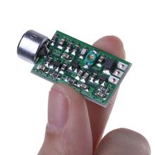 Transmitter Module 88MHZ-108MHZ 0.7-9V Mini Bug Wiretap Dictagraph Interceptor MIC V4.0 Core Board
