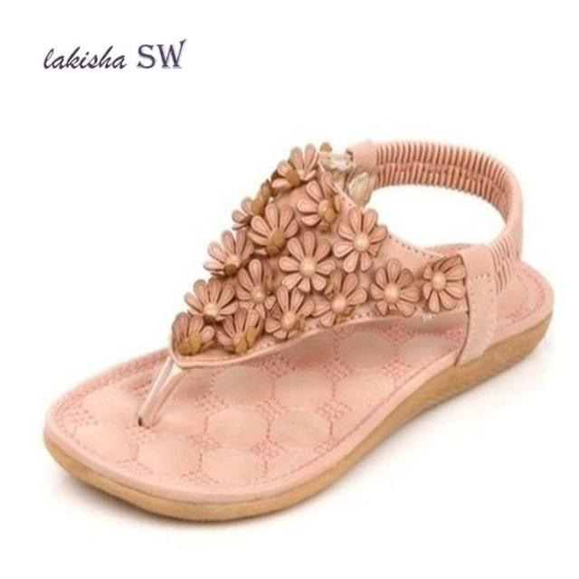 8ee4b050aa3e3 New 2018 New Casual Sandals Flower Bohemia Shoes Fashion Summer Shoes Women  Casual Shoes Women Sandals Size 35-41 Diamond Sandal