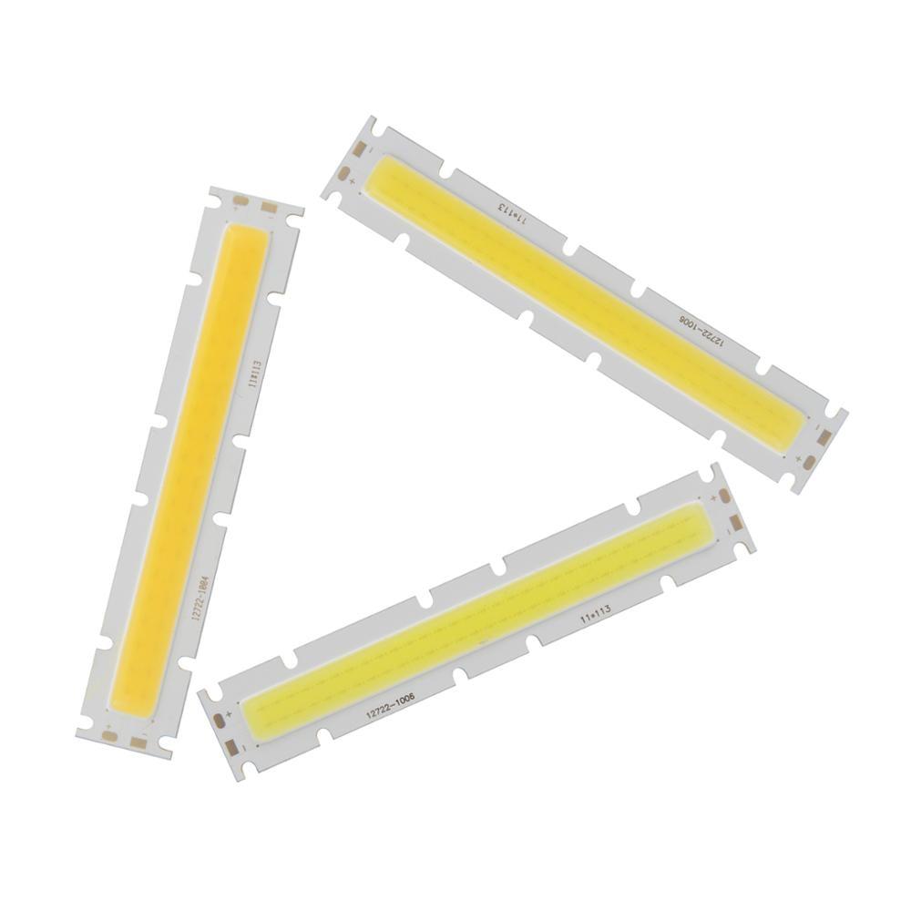 Купить с кэшбэком 10PCS/Lot 30W LED COB long Strip 127mm 22mm High Power Light Source COB LED DIY bulb Module 30-33V DC lamp for Outdoor Downlight