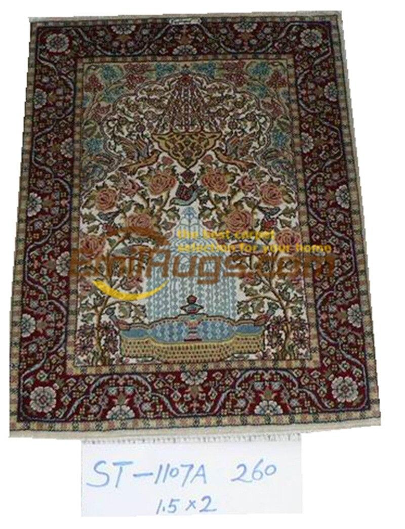 Laine ou soie persan fait à la main Crochet pour tapis salon décoration de la maison tapis en laine tapis tapis Tribal Navajo