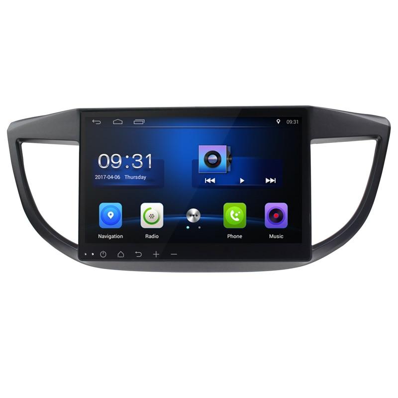 10,2 Android 6,0! Автомобильный DVD ПК Мультимедийный dvd-плеер gps Navi Стерео Радио Fit HONDA CRV 2011 2012 2013 2014-2015 3g WI-FI OBD DAB