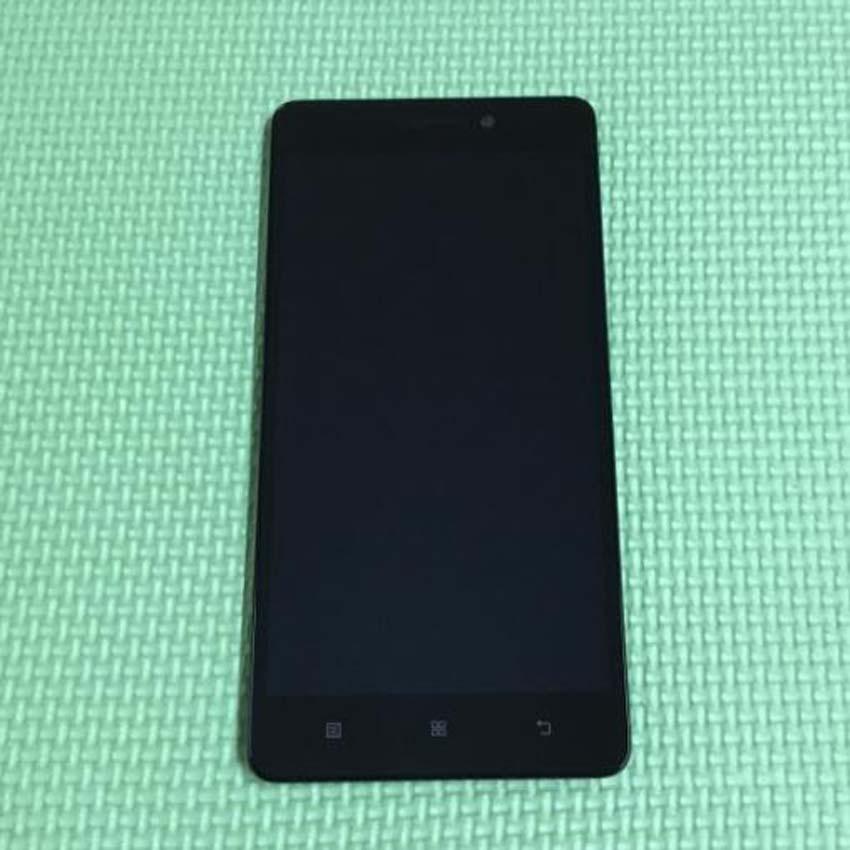 Prix pour Meilleur de travail LCD écran tactile Digitizer assemblée avec cadre pour Lenovo S8 A7600 A7600M téléphone Mobile affichage remplacement