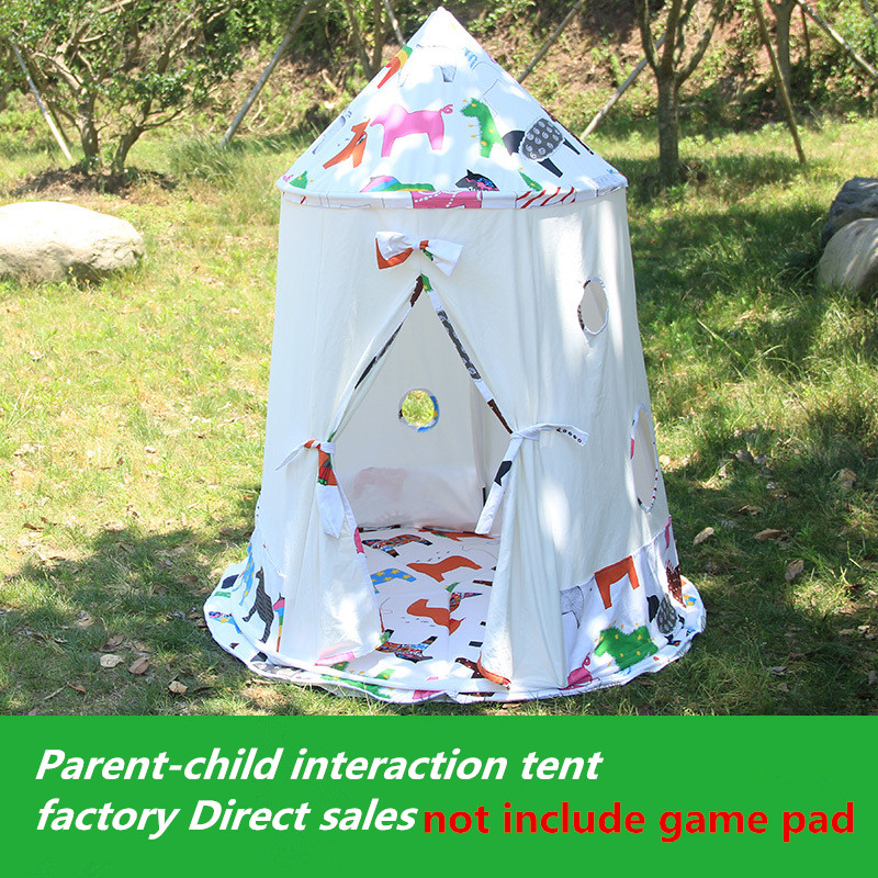 Kids Teepee Tipi Tent for kids White Children Play house Toy Kids baby room indoor big outdoor teepees for children children tipi canvas cotton indian tent kids play house teepee baby game room playhouse boys and girls teepees toy tent page 6