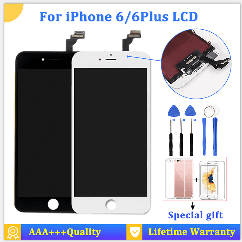 100% New For iPhone 6 Plus 5.5 LCD Touch Screen Replacement For Ecran iPhone 6s Plus LCD Display Assembly Fast Delivery