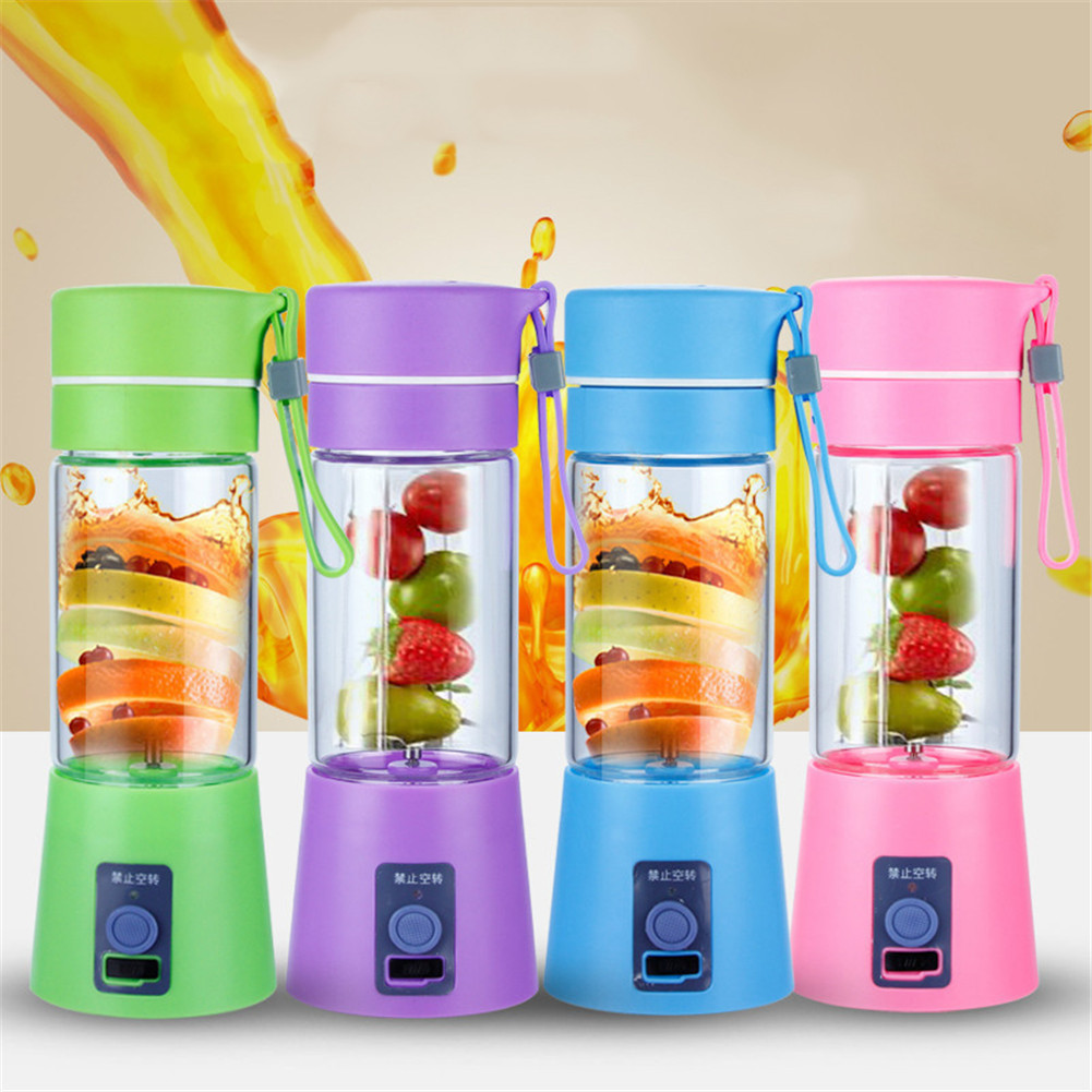 Hot Sale Mini Portable Fruit Mixer Juicer Ice Machines Extractor Smoothie Maker For Outdoor Travel Fruit Vegetable Juicer Tools