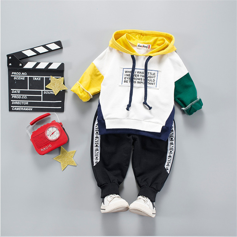 Kids Baby Clothing Sets Costume For Boy Children Boys Clothes Sets High Quality Cartoon Tracksuit For Boys Hooded Coat 6M-4 Year 2016 high quality casual coat for boys mandarin collar polyester juegos infantiles for children nttz 206