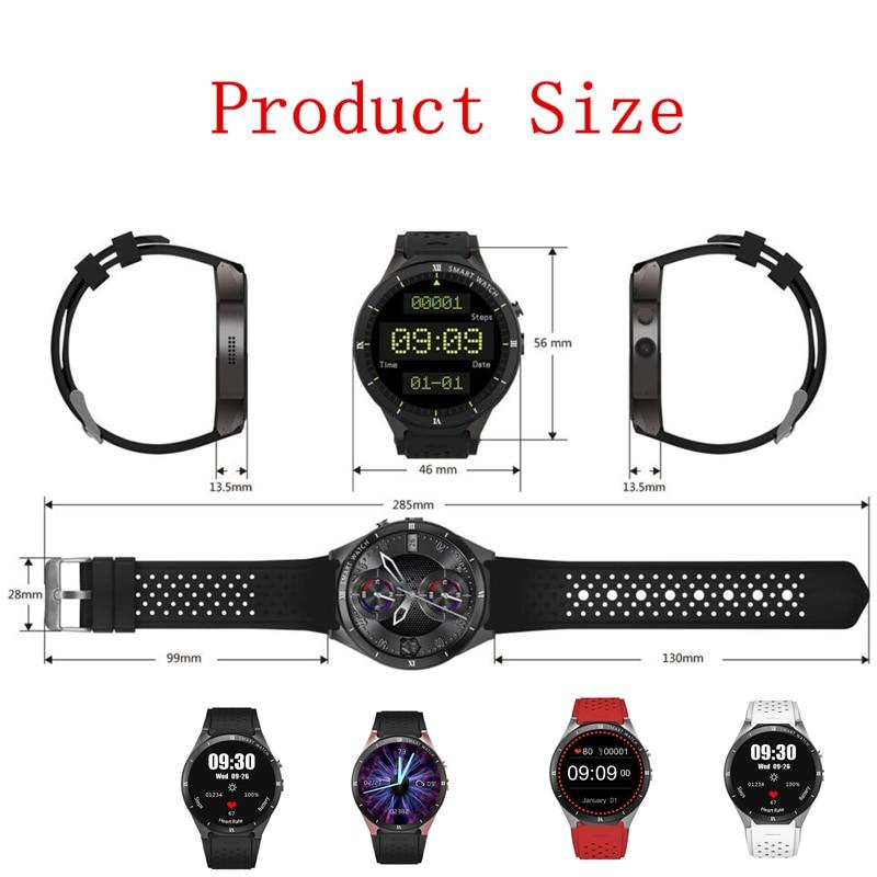 KW88 PRO Smart Watch 1.39 Inch MTK6580 Android 7.0 GPS+WIFI+1gb+16gb Smart Watch 460mAh 2.0 Mega Pixel Heart Rate Monitor watch - 6