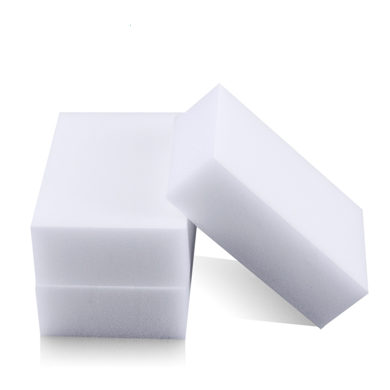 Melamine Sponge Magic Sponge Eraser Melamine Cleaner Eco-Friendly White Kitchen Magic Eraser 2017 New 100pcs/lot 100*60*20mm