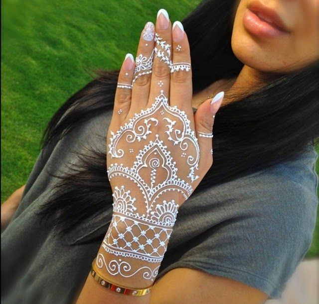 3 Pcs Lot Indian White Henna Tattoo Paste Cone Women Lady Bride