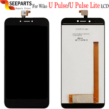 Original New LCD Wiko UPulse Lite LCD Wiko U Pulse LCD Display With Touch Screen Glass Panel Digitizer Assembly Repair U Pulse