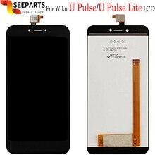 Originele Nieuwe LCD Wiko UPulse Lite LCD Wiko U Pulse Lcd scherm Met Touch Screen Glass Panel Digitizer Vergadering Reparatie U Pulse