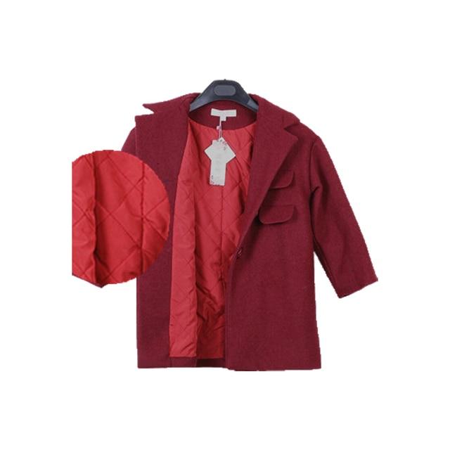 Korean Girl Small Suit 2015 High Quality Kids Clothing Autumn Children Woolen Coat Jacket Cute Girls Jacket Children Outerwear 6