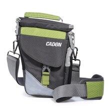 Bolsa de Ombro Câmera profissional Sacos Da Foto Vídeo Carry Case Macio Digital Sling Bag com Capa de Chuva para DSLR Canon Nikon