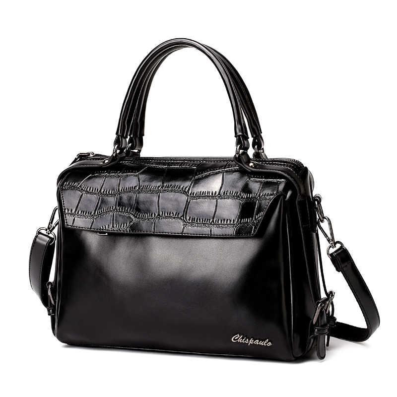 Luxury Brand 2019 Designer Handbags Cow Genuine Leather bags for women Messenger Bags bucket Ladies Crossbody Crocodile Bag X80