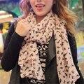 Cachecol Mulheres 2016 Espanha Voile Chiffon Cachecol de Inverno Cachecóis Echarpes Xales e Echarpes de Seda Protetor Solar Capa Cima Femme