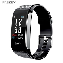 CK18S Smart Band Blood Pressure Heart Rate Monitor IP67 Wrist Watch Fitness Bracelet Tracker Pedometer Wristbands PK CK11S стоимость