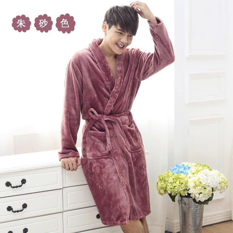 Aliexpress.com   Buy Winter Coral Fleece Bathrobe Women Dressing Gowns For Women  Thickening Warm Robes Sleep   Lounge Wear Bathrobes from Reliable fleece ... f60cda3e4