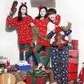 2016 Xmas Hat Мужчины Женщины Фланелевую Пижаму Пара Пижама Костюмы Зимние Одежды Пижамы Ночной Рубашке Толстые Рождественский Подарок