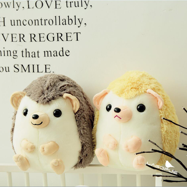 35cm Kawai Lovely Hedgehog Little Hedgehog Plush Toys Small Baby Girl Kids Lover Gift Creative Doll Gift Hedgehog Home New