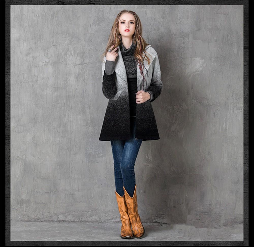 Vintage Warm Women Cashmere Coat 2016 High quality Winter Coat Women Long Sleeve Jacket Winter long Woman coats Cashmere coats (10)