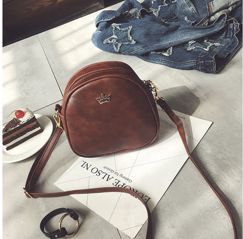 Mara's Dream 2019 Fashion Women Handbag Messenger Bags PU Leather Shoulder Bag Lady Crossbody Mini Bag Female Crown Evening Bags 5